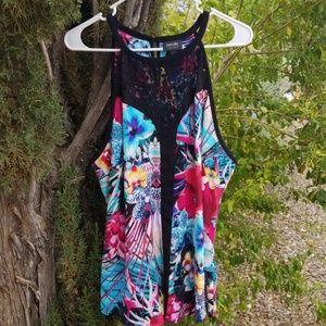 Nicole Miller sleeveless blouse